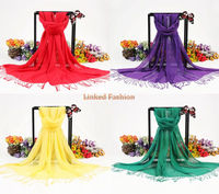 long winter viscose shawl fashion 2015 printed pashmina shawl