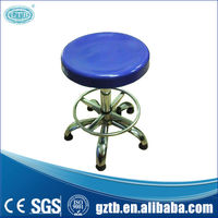 The latest design adjustable metal lab stool for lab furniture