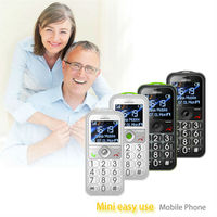 Fashion design for lady senior citizen cell phone, big button mobile with amplified sound