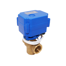 Custom DN15 water flow irrigation system exhaust mini electric valve