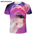 custom 100% polyester sublimation 3d all over printed t shirt