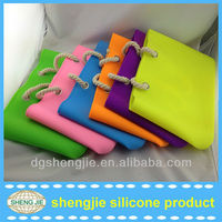 New design hot candy color silicone bags fashion 2013