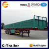 3Axles 40Ton used cargo trailers