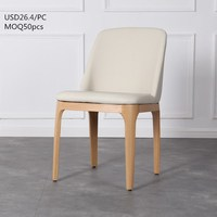 TSF Manufacturer Wholesale Chinese Leather Dining Chair Modern