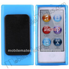 Newest TPU Case for iPod Nano7 With Black Clip