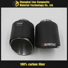 exhuast carbon fiber exhaust pipe cover
