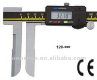 "120-350 22-500mm/0.88-20"" New Type LCD Reading Metric/Inch system Long Jaw Internal Diameter Digital Vernier Calipers"