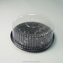 8' Inch Round Plastic Cake Saver Box Disposable Plastic Packing Storage Take Container