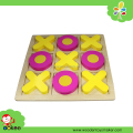 wooden tic tac toe game toy