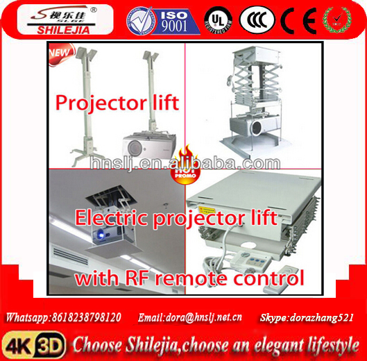 Monitor Wireless Remote Control Electric Projection Lift 1000mm