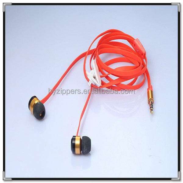 advantage quality metal zipper headphones bulk buy from china