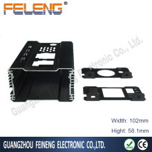 extruded sealed aluminum pcb small electronic enclosures