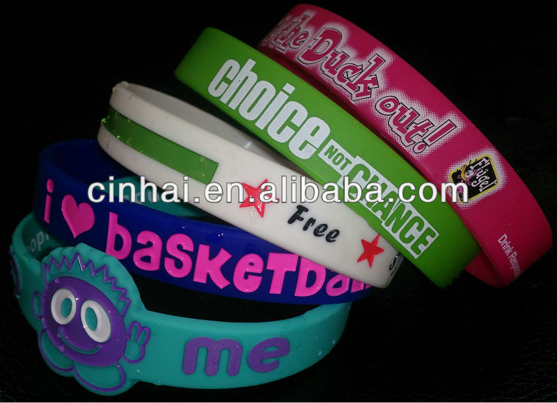 cheap egypt silicone wristband can be any of customized design