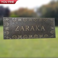 Decorative Customized Bronze Plaque