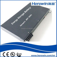 High quality long lifespan deep cycle battery 48v 10ah for ups station,base station device