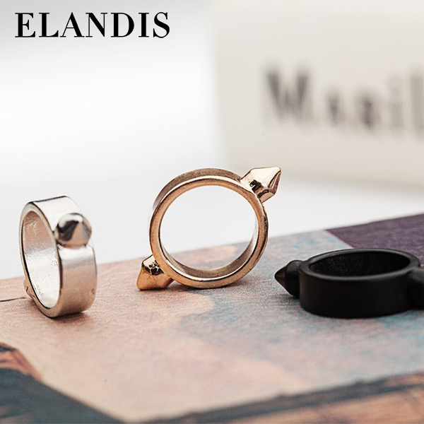 elandis new jewelry zinc alloy metal gold party ring