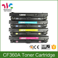 CF360A Laser toner cartridge for HP CF360A printer toner cartridge