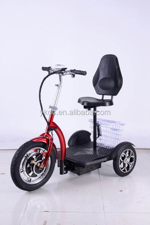 CE Approval 3 Wheels Tricycle 500W Electrical Scooter Adults Use