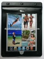 2013 clear waterproof fishing bag for ipad