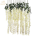 Hot sale artificial white wedding trees with wisteria flower wishing tree for wedding stage decoration