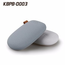 Electronic Gifts Pebbles Shape Power Bank 7800 mah 10400 mah Portable Power Bank With Full Capacity