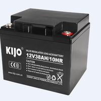Low Internal Resistance 12V38Ah Battery With