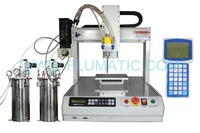 Benchtop Automatic AB glue dispenser robots benchtop 3-axis and led/pcb automatic glue/adhesive dispens