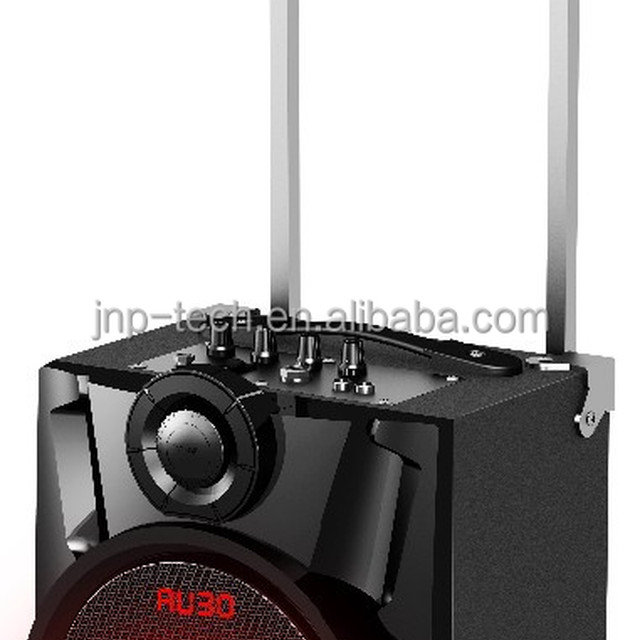 Hot-selling JNP-SL621F rechargeable multifunction Trolley Speaker