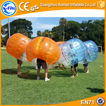 New design promotional human soccer bubble,bubble ball for football