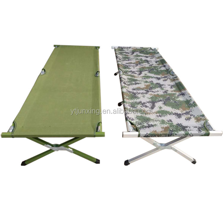 military hiking aluminum camp folding cot