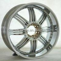 Aluminum Alloy Chrome hyper wheel 20 inch 22 inch 24 inch (ZW-S101)