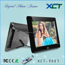 Wholesale bulk wall mount ads battery operated wifi gif mp3 mp4 loop video playback lcd led hd digital photo frame 7 inch rohs