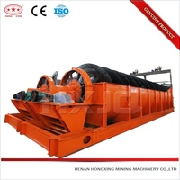 rotary spiral sand washing machine plant