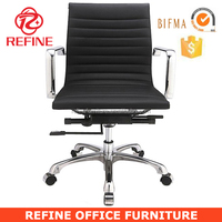 black synthetic leather executive chair pictures of office furniture RF-S076