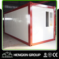 20ft color painted steel frame container house for sale