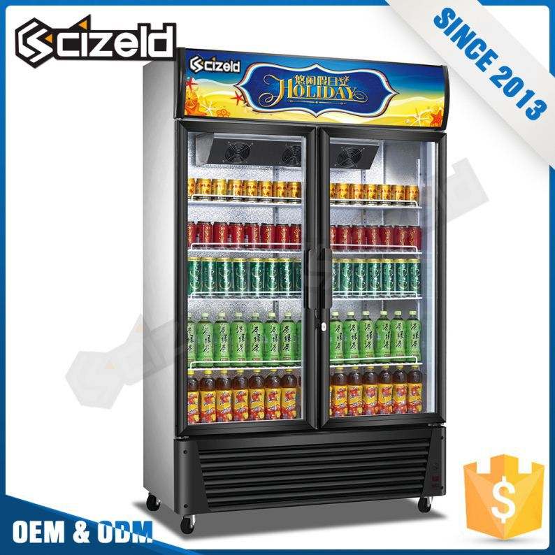 Promotional Item Commercial Wall Mounted Electric Beverage Cooler