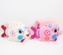 Custom Vinyl Toy Manufacturer Swimming Pool Toys Rubber Fish Toy