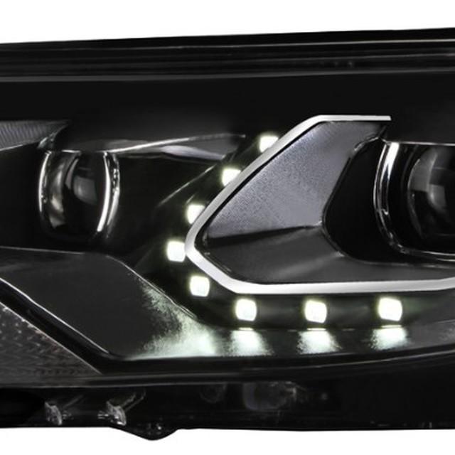 aftermarket led headlight restoration for Volkswagen Tiguan 2013 headlamp