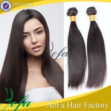 2015 hot selling type 7A grade unprocessed 100% brazilian straight hair