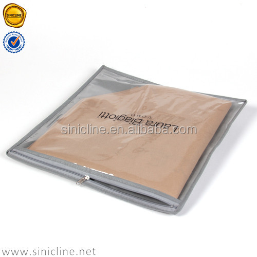 Promotional packaging of Clear PVC zipper bag / small packaging bag