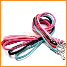 1.2m Long Smooth Walker Pet Cat Dog PU Leather Leash For Training