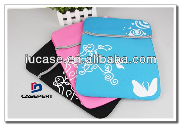 Fashion 2013 Neoprene laptop sleeve, laptop computer inner bag for 15inch laptop with logo printing