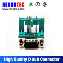 Solder d-sub connector, db connector in terminal block, db9 cover