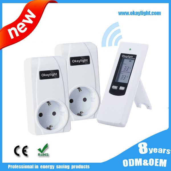 Automatic control switch RF temperature room thermostat