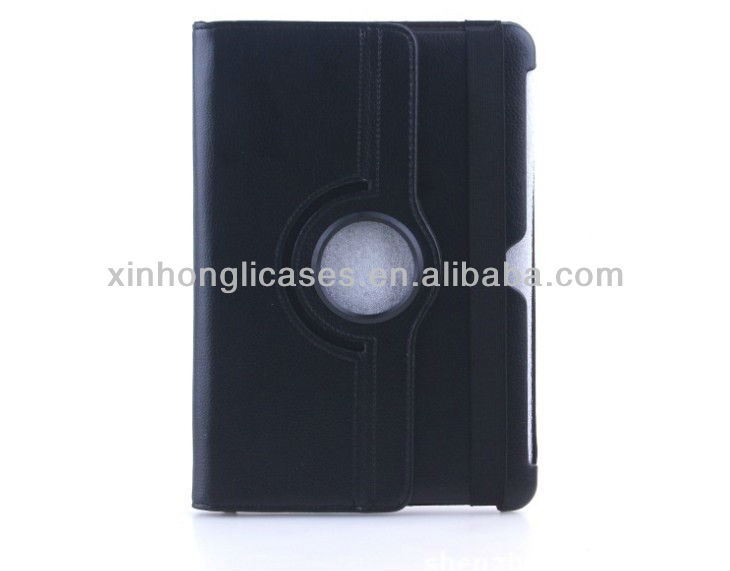 New lether case cover for Samsung galaxy tab 2 10.1, For galaxy tab 2 10.1 rotating leather case