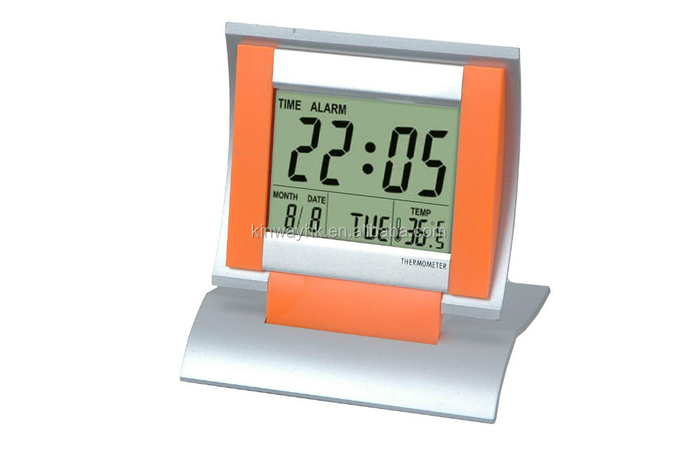 X'mas household big screen digital alarm clock