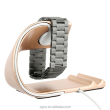 Xguo 2 In 1 Watch Stand Aluminium Alloy Charging Stand For Apple Watch Series 1&2 Stand Holder