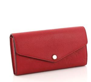 Genuine Leather envelop women wallets saffiano leather ladies fancy hand party purse