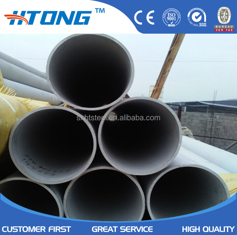 super diameter 26 inch 650mm industrial 310 stainless steel seamless pipe price per meter