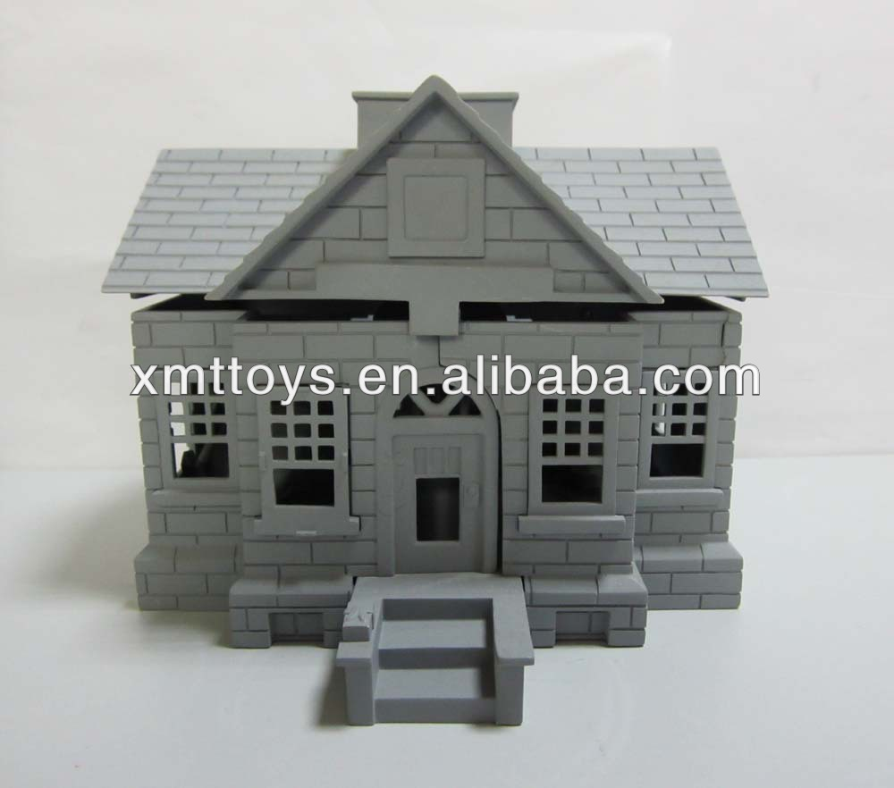 polyresin miniature house model for sale